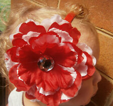Beautiful Baby Girl  Peony Flower Headband size: Newborn to Adult