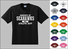 Seahawks Property of Athletic Dept. Football T-shirt