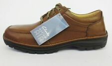 Mens Clarks Black/Brown Lace Up Formal Lace Up Shoes Scahill Path