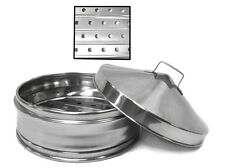 """10"""" Stainless Steel Steamer Food Service Dim Sum Commercial NEW"""