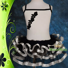 Ballet Tutu Girl Children Dance Costume Fancy Party Dress Up Size 2-6 BA026