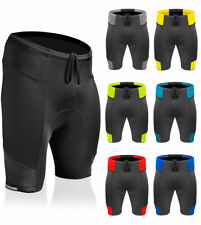 Mens Gel Padded Cycling Shorts Touring Bike Short Cyling Gear USA Made