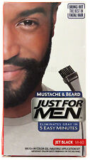 JUST FOR MEN MUSTACHE/BEARD BRUSH-IN COLOR GEL (CHOOSE FROM 3 COLORS)