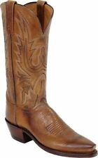Women's 1883 By Lucchese Western Boots N4540 5/4 Tan Mad Dog Goat Leather