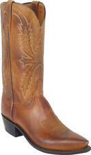 Men's 1883 By Lucchese Western Boots N1547 5/4 Tan Mad Dog Goat Leather