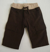 GYMBOREE BOYS BROWN PANTS SIZE 3-6 MOS NWT