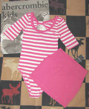 NWT ABERCROMBIE KIDS PINK SKIRT & BODY SUIT - SIZE S OR M