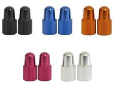 One23 Anodised Alloy Bike Valve Caps Dust Covers MTB/Race Presta High Pressure