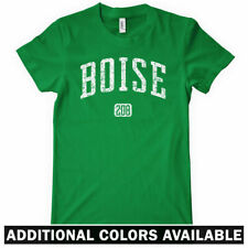 BOISE 208 Women's T-shirt - Area Code 208 - Idaho Broncos State - NEW - S-2XL