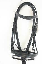 Bell Busk Saddlery Breeze Padded Leather Flash Bridle