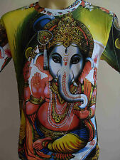 Ganesha Ganesh Men T Shirt OM Hindu India Hinduism M  L