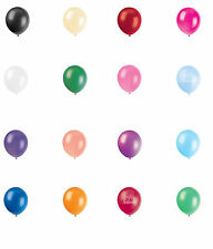 """15 X 12"""" INCH LATEX HELIUM/AIR QUALITY BALLOONS FOR BIRTHDAY WEDDING 26 COLOURS"""