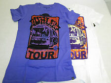 NEW WOMEN'S HURLEY FREEBUS T-SHIRT SKATE SURF