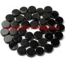 """16mm 14mm 12mm 10mm Coin Shape Banded Agate Gemstone Beads Strand 15"""""""