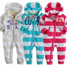"NWT Vaenait Baby Newborn Toddler Girl Boy 's Hoodie One-Piece ""Over the Rainbow"""