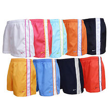 Ladies Nike running active casual shorts brand new 9 colours sizes XS,S,M,L & XL
