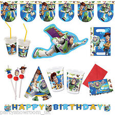 Disney Pixar Toy Story Birthday Balloons Decorations Tableware 1 Listing PS