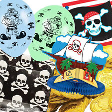 Pirate Party Skull Crossbones Balloons Tableware Decorations One Listing PS