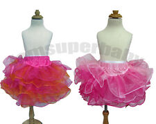 Girl Baby Toddlers PettiSkirt / Tutu Dress, Dancewear Summer Party Dressy 1-4Y
