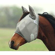 CASHEL CRUSADER FLY MASK STANDARD WITH EARS ALL SIZES & COLORS HORSE TACK