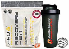 PhD RECOVERY 2 : 1 RECOVERY FORMULA 1.28kg BERRY BLAST + FREE SHAKER