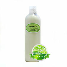 PURE COCONUT 92 DEGREE ORGANIC OIL COLD PRESSED RAW 2 oz 4 oz PINT QUART GALLON