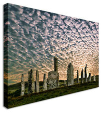 Large Sunset Stone Formation Canvas Pictures Wall Art Prints