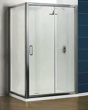 6mm Value Pack Sliding Door with Side Panel 1200x760mm-Guaranteed Cheapest in UK