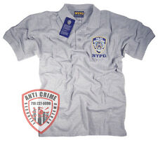 NYPD T-Shirt Polo Officially Licensed by The New York City Police Department