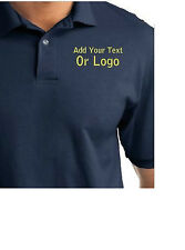 Custom Embroidered Hanes Polo Shirt with Your Text