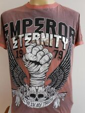 Emperor Eternity Skull Boxer Fist Tattoo Men T shirt M L EE07-Fist