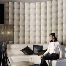 Leather Feature Wallpaper Paste the wall 3D Sofa Style