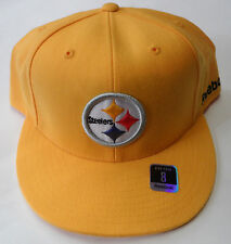 NFL Pittsburgh Steelers Reebok Fitted Cap Hat Choose Size 7 1/2 or 8 NEW!!