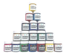 DYLON FABRIC PAINT DYE 25 ml JARS  INC METALLIC & OPAQUE 1, 3, & 6 AVAILABLE!!