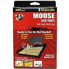 Disposable Glue Traps Board Mouse Rat Pest Rodent Roach Insects 'BAITED' Control