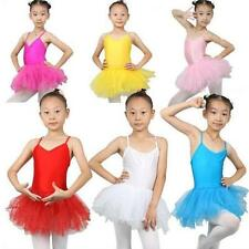 Girls Ballet Tutu Skirt Leotard Dance Skate 4 Sizes 7 Colours