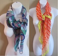 NWT Gap Women's Colorful Graphic Scarf Wrap Shawl NEW $16.99