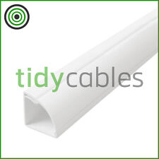 D-Line 22x22 Quadrant TV Floor Cable Tidy Cover Wire Trunking 1m, 1.25m, 1.5m