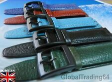 17mm HIGHEST QUALITY LEATHER WATCH STRAP for SWATCH WATCH (Anti Allergic)