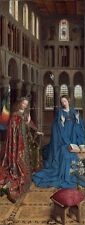 Photo Print Reproduction Annunciation Jan Van Eyck Other Sizes Avail