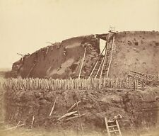 Interior Angle North Fort Immediately After Its Capture Felice Beato British Bor