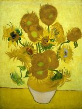 Photo Print Reproduction Sunflowers Vincent Van Gogh Other Sizes Avail