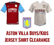 ASTON VILLA NIKE Boys Kids Junior Home & Away Jersey Shirt Soccer Football