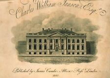Photo Print Reproduction Front View Of Presidents House City Of Washington