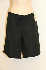 New Island Escape Swimsuit Cover up Board Shorts Black Long