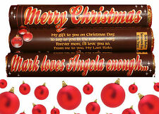 Personalised CHRISTMAS Rolos - Ideal Stocking Filler/Gift