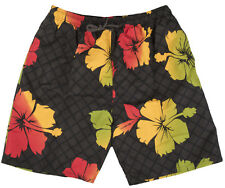 MENS BOARD BPARDER SHORTS TRUNKS FLOWER HOLIDAY WARM RED/GREEN SIZES S,M,L,XL