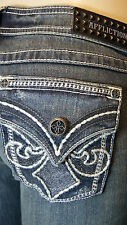 AFFLICTION JEANS ZIGY CATHEDRAL SMOKE STONE BOOT CUT