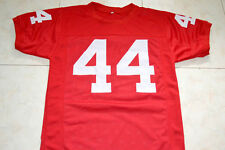 FORREST GUMP #44 THE MOVIE SEWN NEW JERSEY RED - ANY SIZE