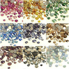 144 Mix 3 Sizes & 3 Colors Swarovski 2028 2058 Rhinestones Crystal Nail Art